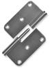 Afbeelding van Argenta paumelle roestvaststaal 89x89mmx2,5 12mm din RS