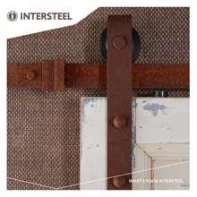 Afbeeldingen van Intersteel Schuifdeursysteem Basic antiek