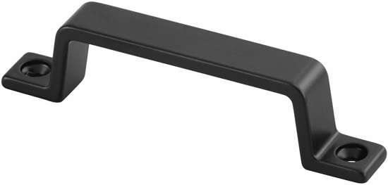 Afbeelding van Hermeta Handgreep 90mm opschroefbaar zwart 4200-70