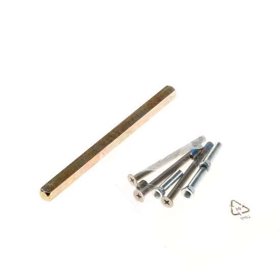 Afbeelding van Bevestigingset langschilden ASL t.b.v. deurdikte 59-78mm voor draaigarnituren