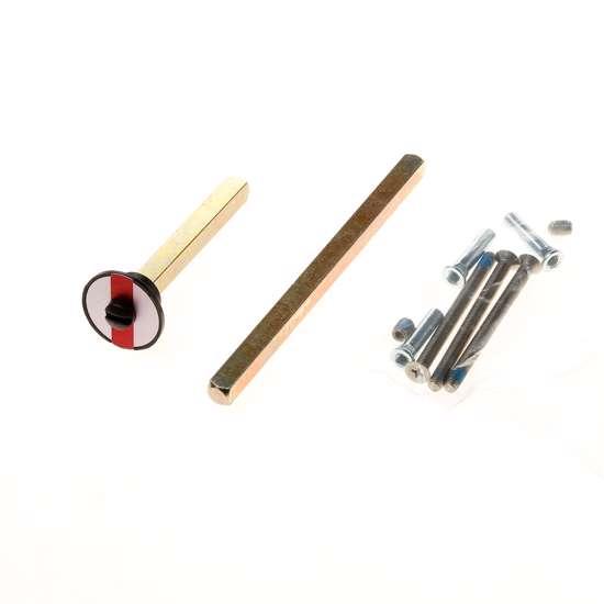 Afbeelding van Bevestigingset langschilden ASL t.b.v. deurdikte 59-78mm voor toilet-/badkamergarnituren