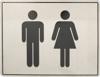 Afbeelding van Pictogram roestvaststaal 170x130 toiletgroep d+h