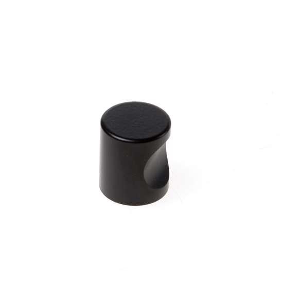Afbeelding van Cilinderknop 20x23mm m4 zwart 3731-70