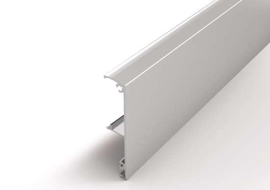 Afbeelding van Proslide afdekkap plafondmontage  aluminium 2 meter