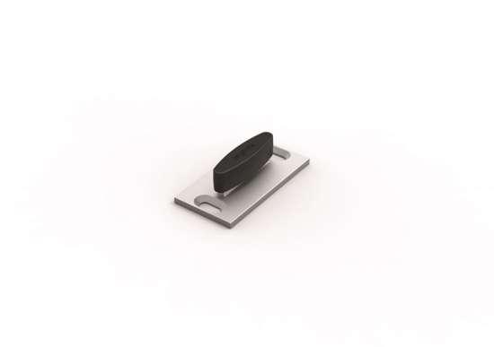 Afbeelding van Proslide vloergeleider aluminium