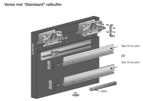 Afbeelding van Linea Standaard Stop 80 kg. 12/18mm (exclusief profiel)