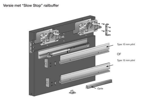 Afbeelding van Linea Slow Stop 80 kg. 12/18mm (exclusief profiel)