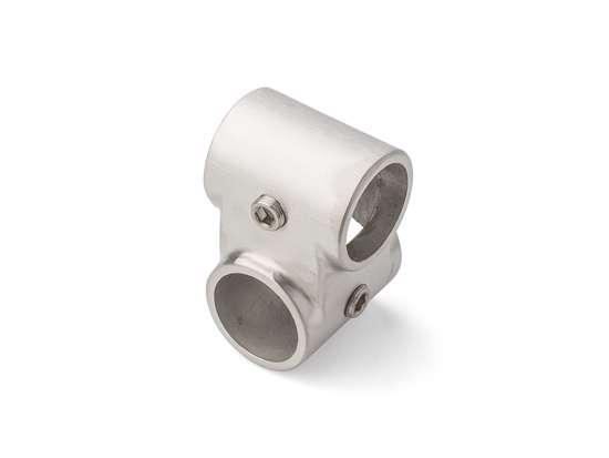 Afbeelding van Tzuwi Kruis koppeling offset roestvaststaal voor buis 28mm 4B