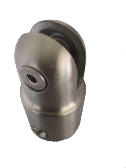 Afbeelding van Tzuwi Koppeling plaatmontage roestvaststaal voor buis 28mm 1B