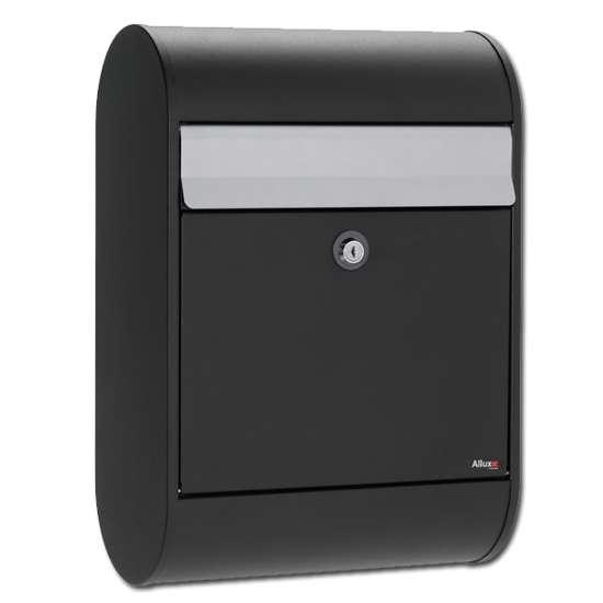 Afbeelding van Brievenbus Allux 5000 zwart, een design brievenbus