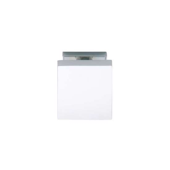 Afbeelding van Intersteel Voordeurknop vierkant 65 mm chroom