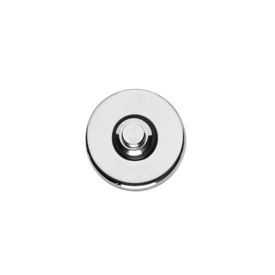Afbeelding van Intersteel Deurbel rond verdekt chroom