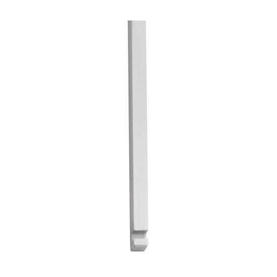 Afbeelding van Intersteel Stangenset deurespagnolet 2 x 125 cm chroom mat