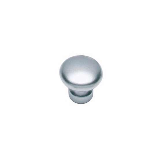 Afbeelding van Intersteel Meubelknop paddenstoel ø 27 mm chroom mat