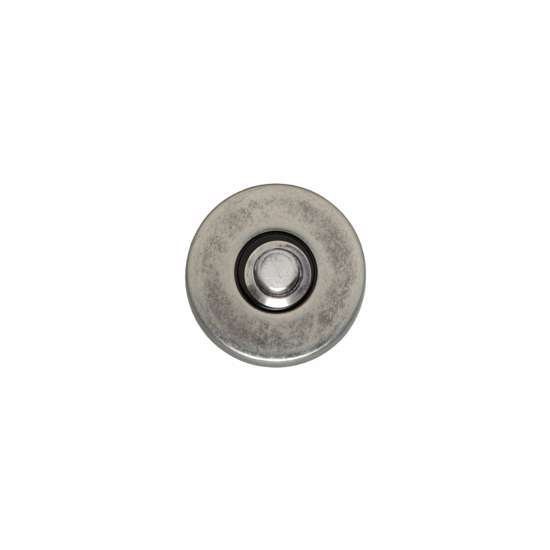 Afbeelding van Intersteel Deurbel rond verdekt oud grijs