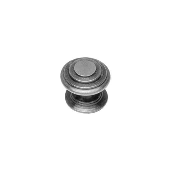 Afbeelding van Intersteel Meubelknop rond punt ø 30 mm oud grijs