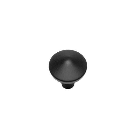 Afbeelding van Intersteel Meubelknop ø 30 mm mat zwart