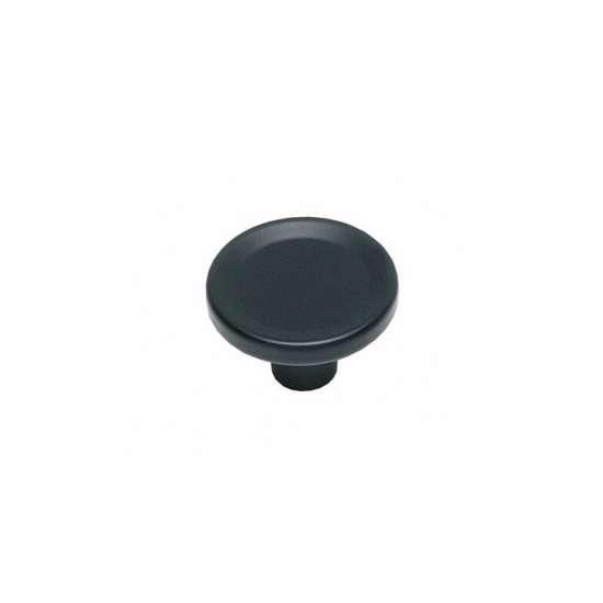 Afbeelding van Intersteel Meubelknop ø 44 mm mat zwart