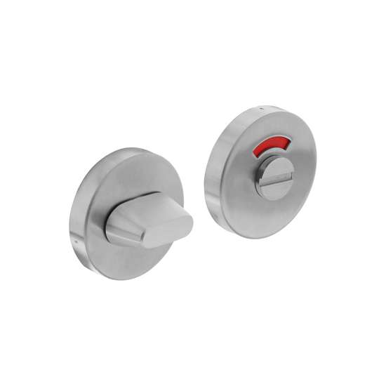 Afbeelding van Intersteel Rozet toilet-/badkamersluiting rond verdekt roestvaststaal geborsteld 8 mm