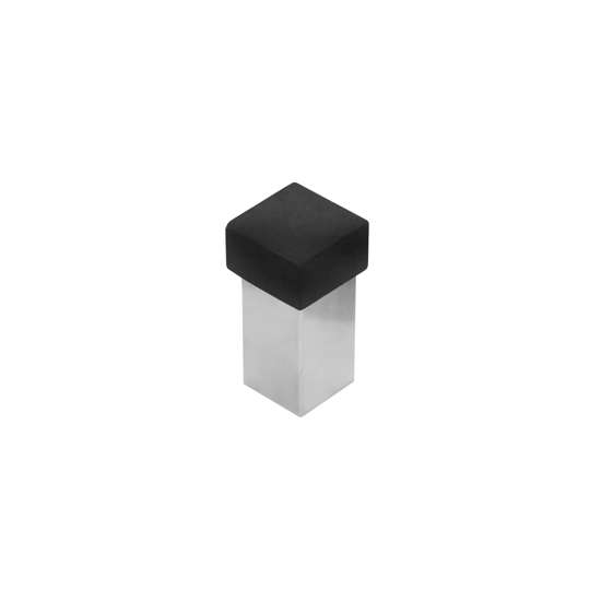 Afbeelding van Intersteel Deurstop vierkant universeel roestvaststaal geborsteld