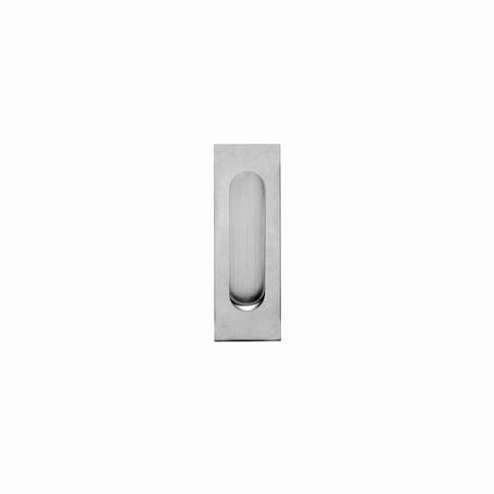 Afbeelding van Intersteel Schuifdeurkom rechthoek 170 x 50 mm blind roestvaststaal geborsteld