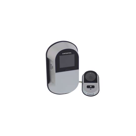 Afbeelding van Intersteel Digitale deurcamera wifi DDV 4.0