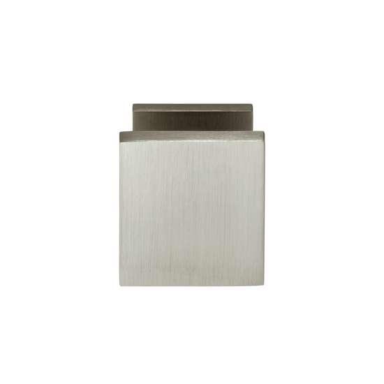 Afbeelding van Intersteel Voordeurknop vierkant nikkel mat