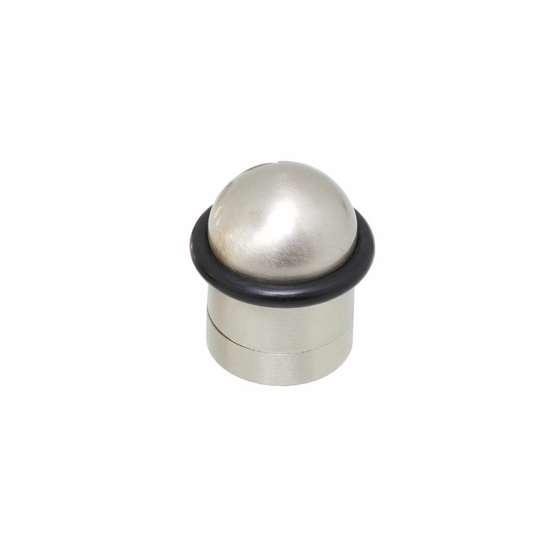 Afbeelding van Intersteel Deurstop met ring nikkel mat