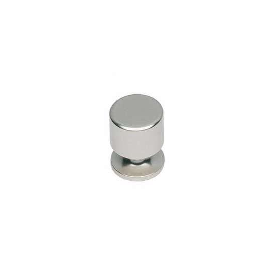 Afbeelding van Intersteel Meubelknop ø 16 mm nikkel mat