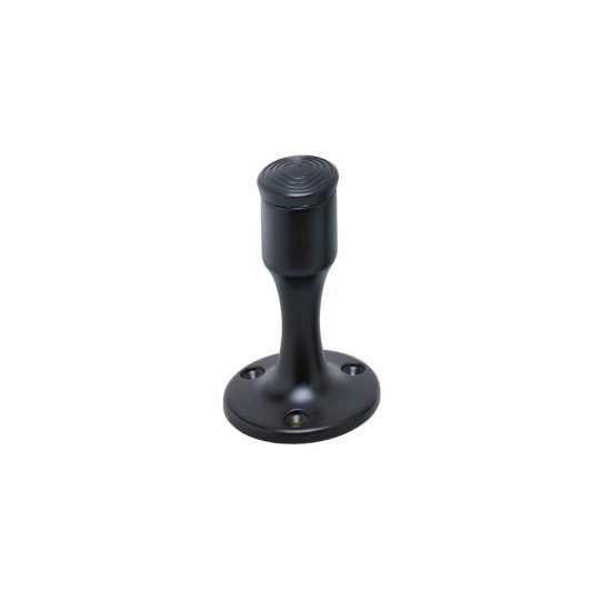 Afbeelding van Intersteel Deurstop recht model mat zwart