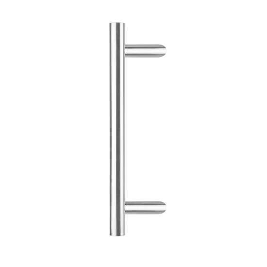Afbeelding van Intersteel Deurgreep T-schuin ø 25 mm - 700 mm roestvaststaal geborsteld