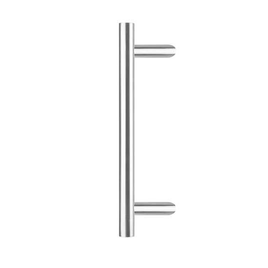 Afbeelding van Intersteel Deurgreep T-schuin ø 30 mm - 500 mm roestvaststaal geborsteld