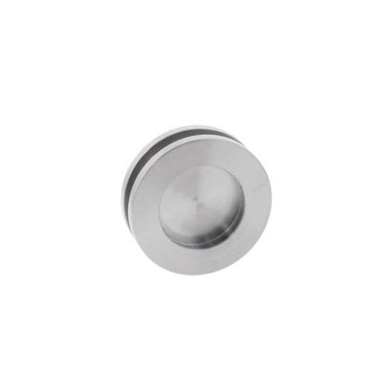 Afbeelding van Intersteel Schuifdeurkom glasdeur 36 mm roestvaststaal geborsteld