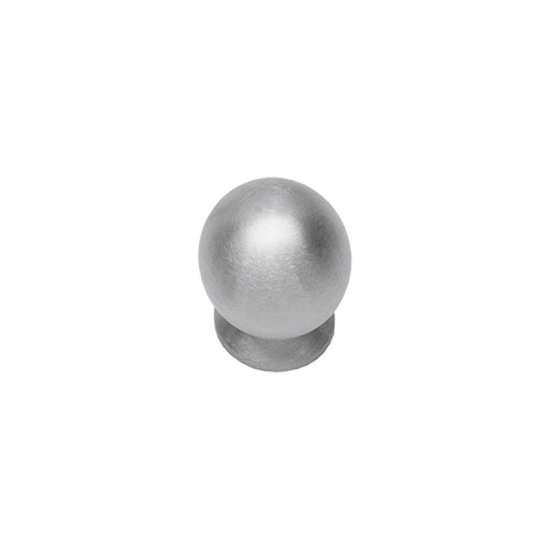 Afbeelding van Intersteel Meubelknop ø 30 mm roestvaststaal geborsteld