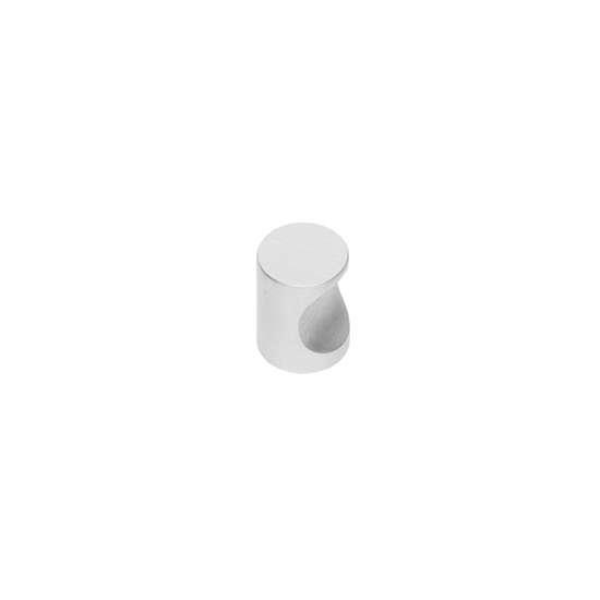 Afbeelding van Intersteel Meubelknop ø 15 mm roestvaststaal geborsteld