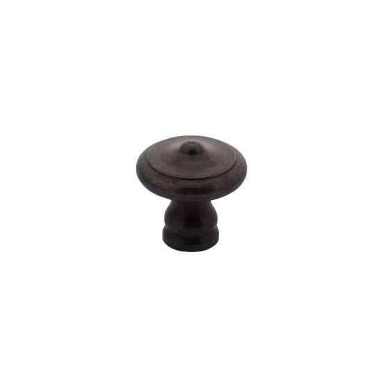 Afbeelding van Intersteel Meubelknop ø 20 mm smeedijzer grijs