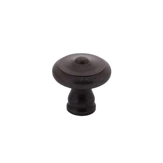 Afbeelding van Intersteel Meubelknop ø 25 mm smeedijzer grijs