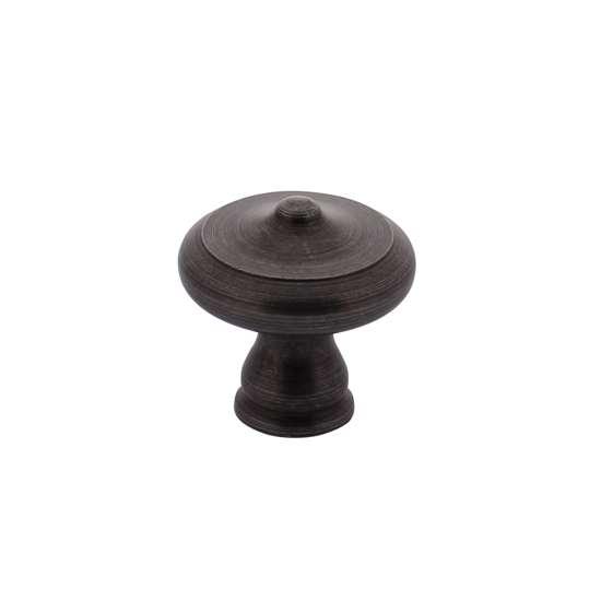 Afbeelding van Intersteel Meubelknop ø 30 mm smeedijzer grijs