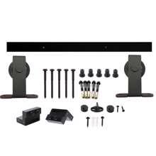 Afbeeldingen van Intersteel Schuifdeursysteem Basic Top mat zwart