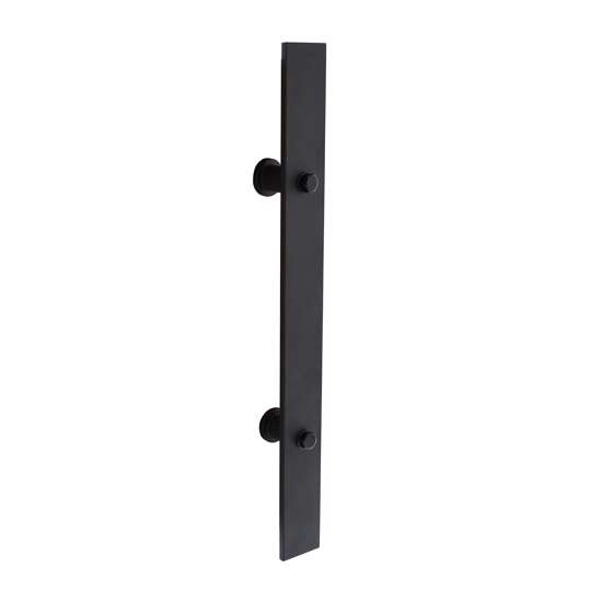 Afbeelding van Intersteel Deurgreep 800 x 40 mm mat zwart