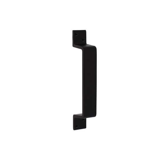 Afbeelding van Intersteel Deurgreep 200 x 29 mm mat zwart
