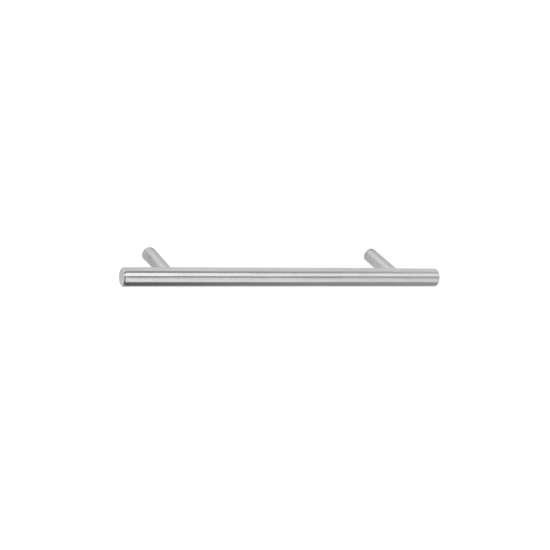 Afbeelding van Intersteel Meubelgreep Ø10 mm, lengte 114 mm roestvaststaal geborsteld
