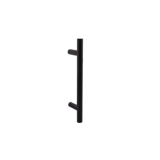 Afbeelding van Intersteel Deurgreep T-model Ø 20 mm – 300 mm mat zwart