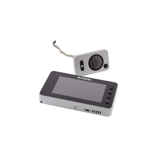 Afbeelding van Intersteel Digitale deurcamera 2.1 met bewegingssensor en belfunctie inclusief 128MB SD card
