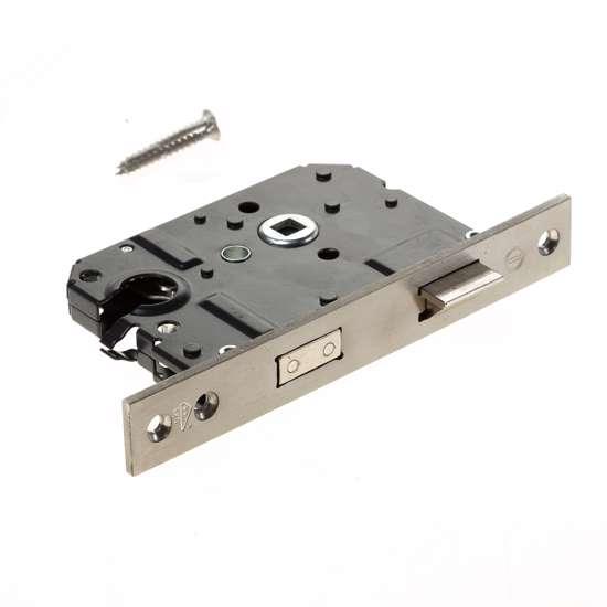 Afbeelding van VH-cilinderslot PC 55mm, rvs rechthoekige voorplaat 25x174mm, SKG2