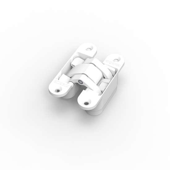 Afbeelding van Argenta 3D verstelbaar, onzichtbaar scharnier, invisible small, mat wit ral 9016