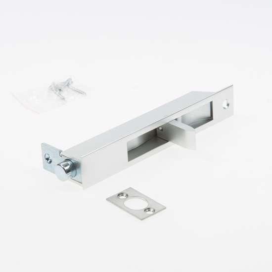 Afbeelding van Kantschuif aluminium  150x25 7550as
