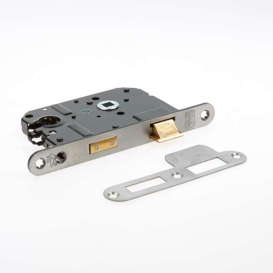 Afbeelding van Nemef Veiligheids Cilinder dag- en nachtslot deurslot PC55mm type 1279/17-50 DIN rechts
