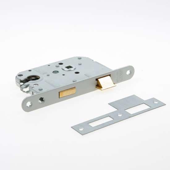 Afbeelding van Nemef Cilinder dag- en nachtslot deurslot PC55mm type 1269/4-50 DIN rechts