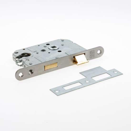 Afbeelding van Nemef Cilinder dag- en nachtslot deurslot type 1269/17-50/PC55mm DIN rechts